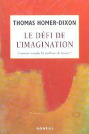 Defi De L'Imagination (Le) - Intérieur - Format classique