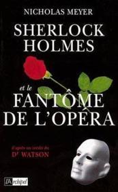 Sherlock holmes et le fantome de l'opera - Couverture - Format classique