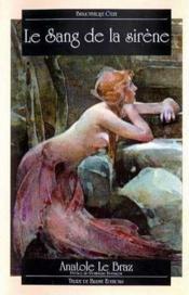 Le sang de la sirène - Couverture - Format classique