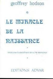 Miracle de la naissance - Couverture - Format classique