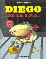 Diego de la S.P.A. t.1 - Intérieur - Format classique
