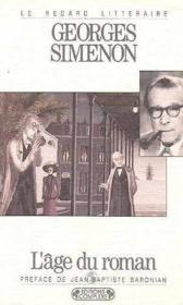 L'age du roman - Couverture - Format classique