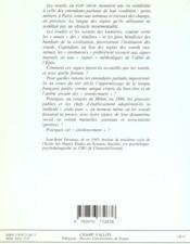 Signes et institutions des sourds, XVIIIe-XIXe siècle - 4ème de couverture - Format classique
