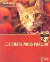 Les chats nous parlent - Couverture - Format classique