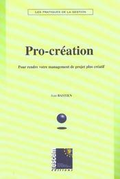 Pro-Creation - Intérieur - Format classique