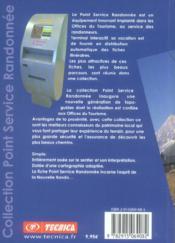 La nouvelle rando ; Haute Savoie ; St Gervais Mont Blanc ; Val Montjoie - 4ème de couverture - Format classique