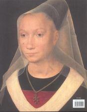 Les Portraits De Memling - 4ème de couverture - Format classique