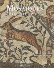 Mosaïques grecques et romaines - Couverture - Format classique