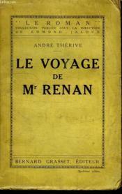LE VOYAGE DE Mr RENAN. - Couverture - Format classique