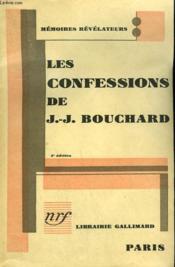Les Confessions De J.-J. Bouchard. - Couverture - Format classique