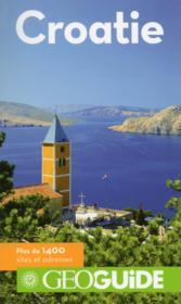 Geoguide ; Croatie - Couverture - Format classique