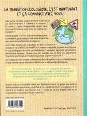 Famille en transition écologique - 4ème de couverture - Format classique