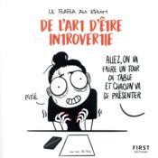 De l'art d'être introvertie - Couverture - Format classique