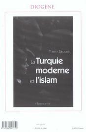 REVUE DIOGENE N.206 ; humanismes émergents (édition 2004) - 4ème de couverture - Format classique