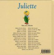 Juliette et ses jolis rêves - 4ème de couverture - Format classique