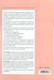 Comptabilite Approfondie Et Revision Decf Uv6 Conforme Euro Cours Complet 130 Applications Corrigees - 4ème de couverture - Format classique