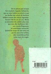 Paroles De Ventriloque - 4ème de couverture - Format classique
