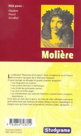 Moliere - 4ème de couverture - Format classique