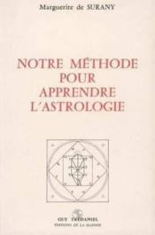 Methode d'apprendre l'astrologie (notre) - Couverture - Format classique