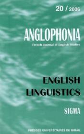 English Linguistics - Couverture - Format classique