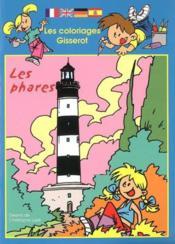 Les coloriages gisserot : les phares - Couverture - Format classique