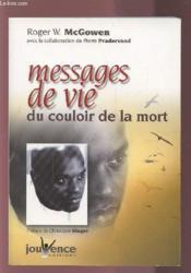 Messages de vie du couloir de la mort - Couverture - Format classique