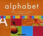 Alphabet ; 26 lettres - Couverture - Format classique
