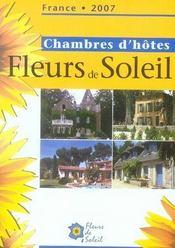 Chambres d'hôtes fleurs de soleil (édition 2007) - Intérieur - Format classique