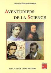 Aventuriers de la science - Couverture - Format classique