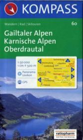 Gailtaler Alpen ; Karnische Alpen ; Oberdrautal - Couverture - Format classique