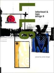 Letterhead and logo design 6 (paperback) - Couverture - Format classique