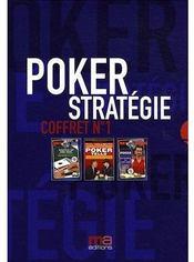 Coffret poker stratégie t.1 ; poker tells ; shuffle up and deal ; poker, les secrets du cash game - Couverture - Format classique