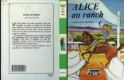 Alice au ranch - Couverture - Format classique