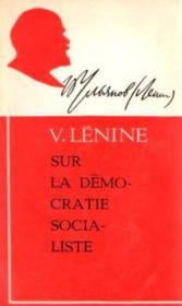 Sur la démocratie socialiste - Couverture - Format classique