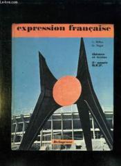 EXPRESSION FRANCAISE THEMES ET TEXTES. BEP 2em ANNEE. CLASSE DE PREMIERE CONCOURS ADMINITRATIF. - Couverture - Format classique