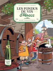 Les fondus du vin d'Alsace - Couverture - Format classique