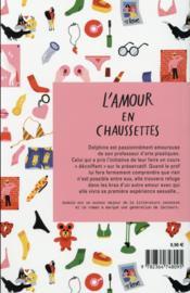 L'amour en chaussettes - 4ème de couverture - Format classique