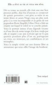 Celine ; La Biographie Officielle - 4ème de couverture - Format classique
