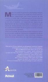 Guide de la France aéronautique - 4ème de couverture - Format classique