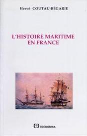 L'histoire maritime en france - Couverture - Format classique