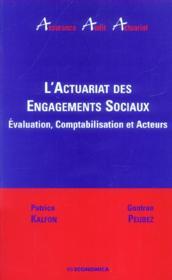 L'Actuariat Des Engagements Sociaux - Couverture - Format classique