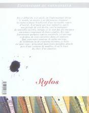 L'inventaire du connaisseur : les stylos - 4ème de couverture - Format classique