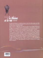 Le Rh?ne et le vin ; du vin des cimes au vin des sables - 4ème de couverture - Format classique