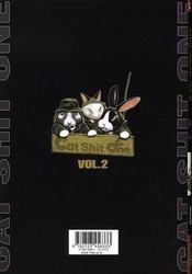 Cat shit one t.2 - 4ème de couverture - Format classique