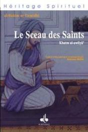 Sceau Des Saints (Le) - Couverture - Format classique