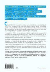 Guide Pratique De La Voyance - Mieux Connaitre Ses Dons Pour Les Maitirser Et Les Developper - 4ème de couverture - Format classique