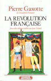 Revolution francaise - Intérieur - Format classique
