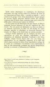 Boire Avec Esprit. Biere De Mil Et Societe Dogon - 4ème de couverture - Format classique
