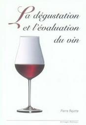 La dégustation et l'évaluation du vin - Intérieur - Format classique