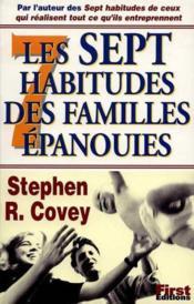 Les Sept Habitudes Des Familles Epanouies - Couverture - Format classique